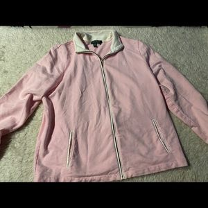 Lauren By Ralph Lauren pink zip up